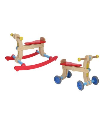 Red & Blue Convertible Swing-Up Toy