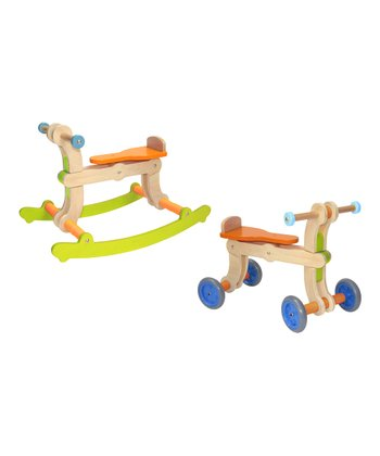 Green & Orange Convertible Swing-Up Toy