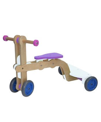 White & Purple Convertible Surf-Up Toy