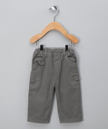 Medium Gray Tab Pants - Infant & Boys
