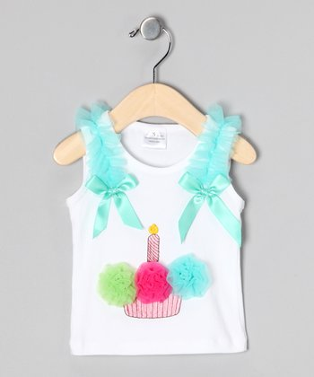 Bright Cupcake Tank - Toddler & Girls