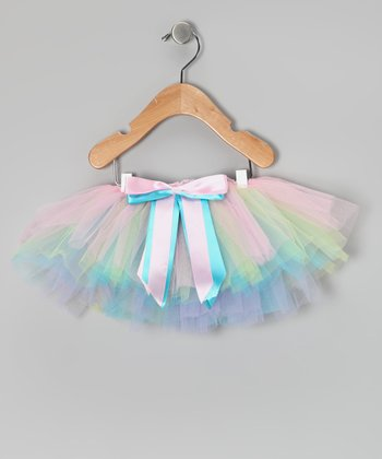 Pastel Rainbow Tutu - Infant, Toddler & Girls
