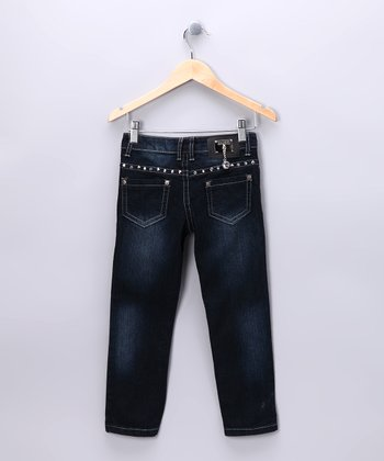Vintage Straight-Leg Jeans - Girls