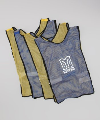 Yellow & Blue Practice Vest Set
