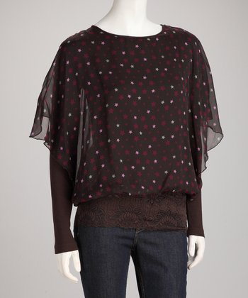 Dark Brown Selena Top