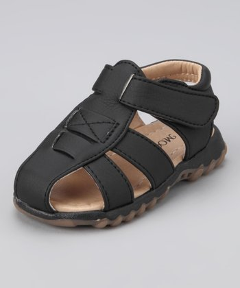 Black Dallas Sandal - Toddler & Girls