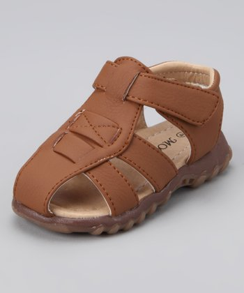Brown Dallas Sandal - Toddler & Girls
