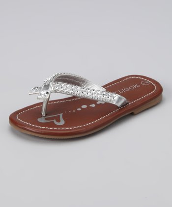 Silver Darling Sandal - Toddler
