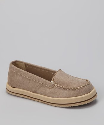 Beige Honey Slip-On Shoe