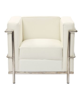 White Le Corbusier Armchair