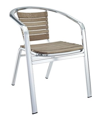 Silver Express Indoor/Outdoor Accent Chair