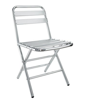 Silver Folderia Indoor/Outdoor Folding Chair