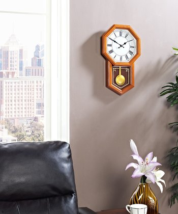 Brown Honor Pendulum Wall Clock