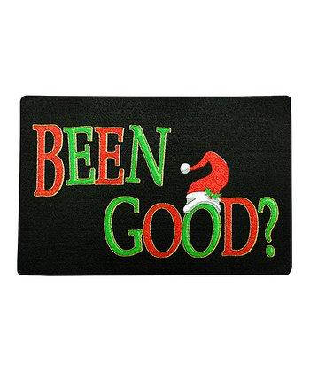 'Been Good?' Recycled Doormat