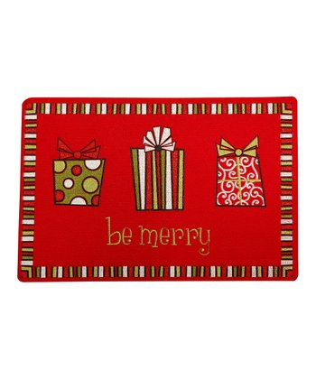 'Be Merry' Gift Doormat