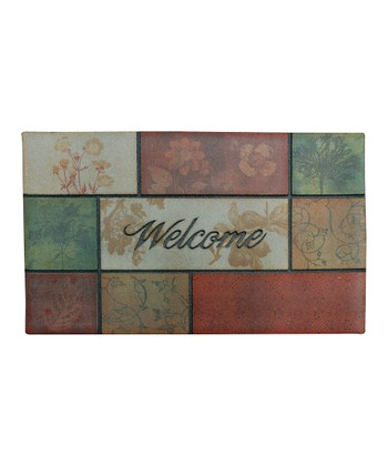 Garden Beauty Panels Doormat