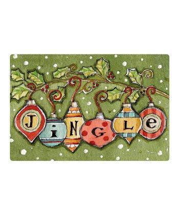 Jingle Ornaments Comfort Cushion Indoor Mat
