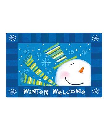 Winter Welcome Comfort Cushion Indoor Mat