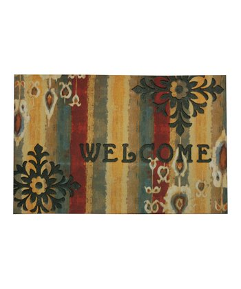 Ikat Drop Doormat