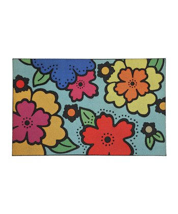 Big Flowers Doormat