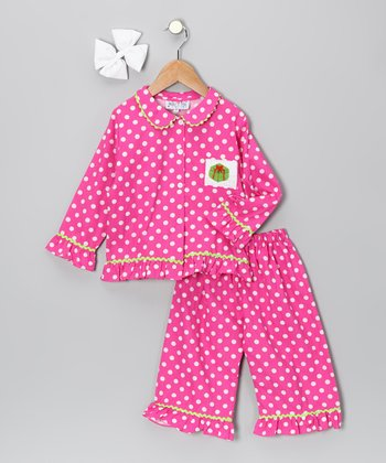 Pink Present Pants Set - Infant