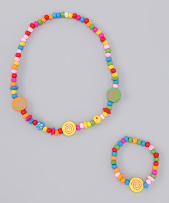 Swirl Stretch Necklace & Bracelet
