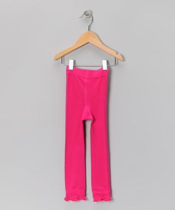 Pink Leggings - Infant, Toddler & Girls