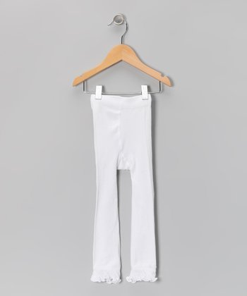 White Leggings - Toddler & Girls