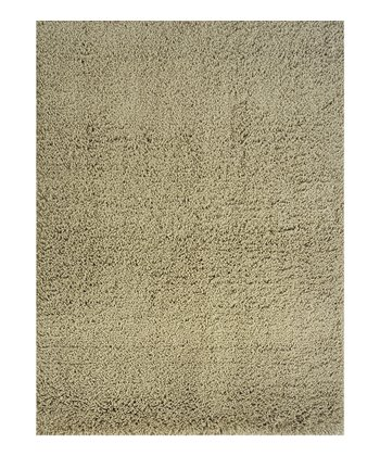 Olive Green Super Shag Rug