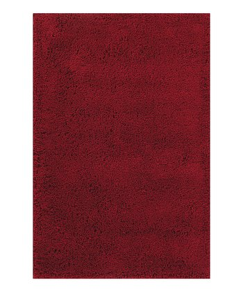 Red Super Shag Rug