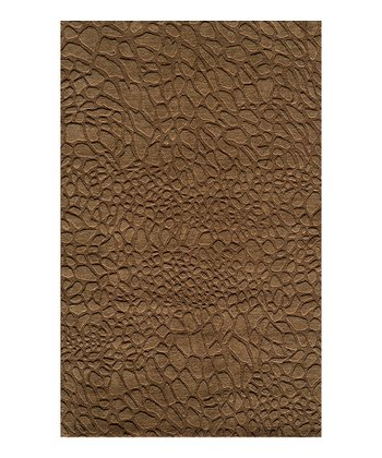 Brown Mariah Wool Rug