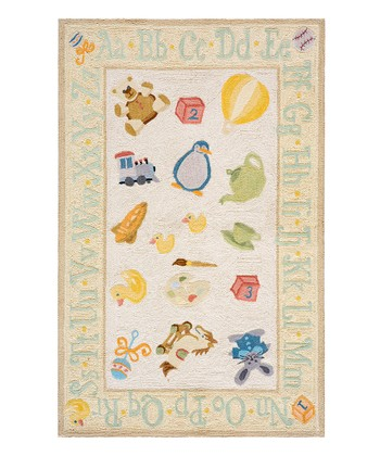 Yellow ABC Rug