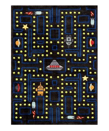 Black Arcade Rug