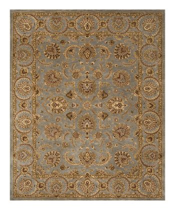 Light Blue Jaipur Wool Rug
