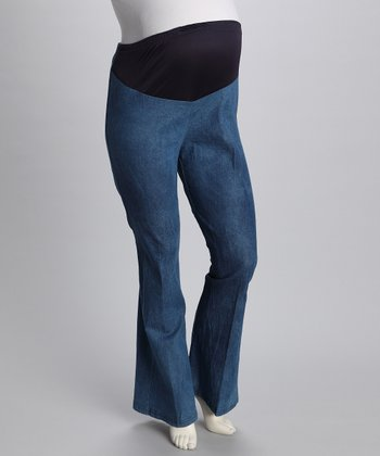 Light Blue In Your Jeans Maternity Jeans