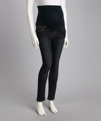 Denim Jeaneology Over-Belly Maternity Jeans