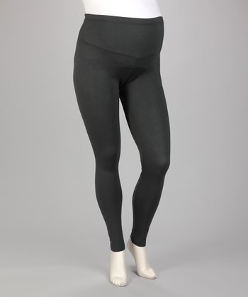 Charcoal Maternity Leggings