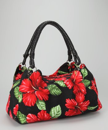 Black & Red Club Tropicana Shoulder Bag
