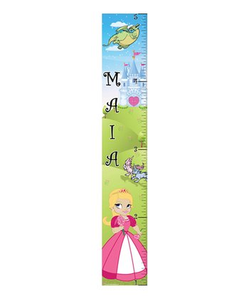 Pink Princess Girl Growth Chart