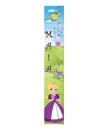 Mona MELisa Designs Purple Princess Girl Growth Chart