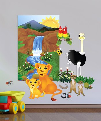 Jungle Accessory Interactive Wall Decal Set