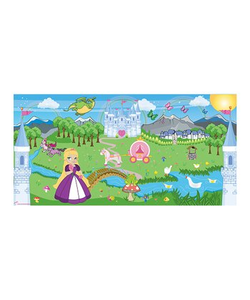 Mona MELisa Designs Purple Princess Girl Mural