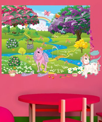 Pony Interactive Wall Decal Set