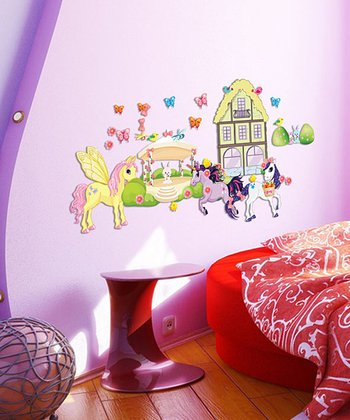 House Pony Pack Interactive Wall Decal Set