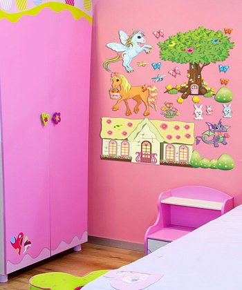 Tree Pony Pack Interactive Wall Decal Set