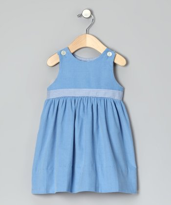 Blue Corduroy Dress - Infant & Toddler