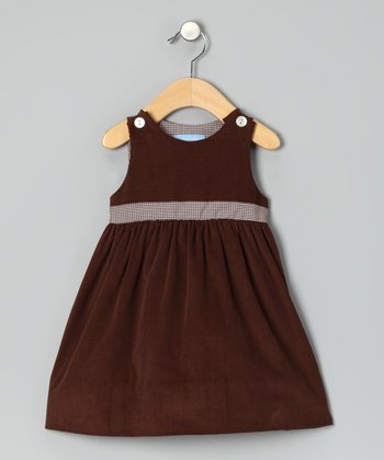 Brown Corduroy Dress - Infant & Toddler
