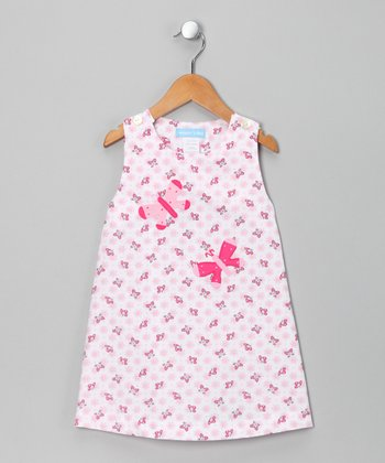 Pink Butterfly Jumper - Infant & Toddler