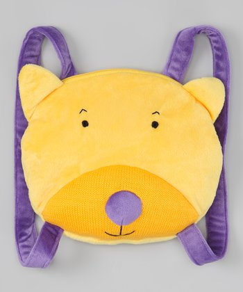 Yellow Cat Backpack