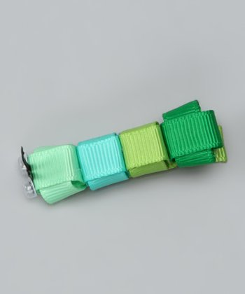 Green Caterpillar Clip